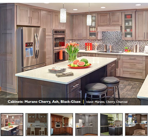 Kitchen cabinets bison bath and kitchen design - Mid continent cabinets ...